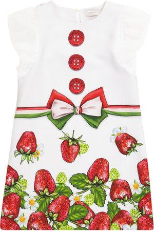 MONNALISA Printed stretch-jersey dress