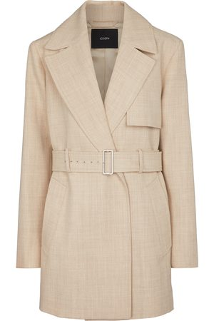 Joseph Chasy belted wool twill jacket