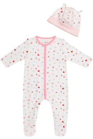The Marc Jacobs Babysæt - Baby cotton jersey onesie and hat set