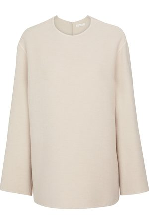 The Row Kvinder Strik - Tamar cashmere, wool and silk sweater