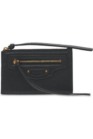 BALENCIAGA Kvinder Punge - Grained Leather Card Holder