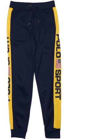 Ralph Lauren Drenge Bukser - Track Pants W/ Logo Bands