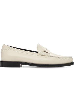 Saint Laurent Kvinder Flade sko - 15mm Le Leather Loafers