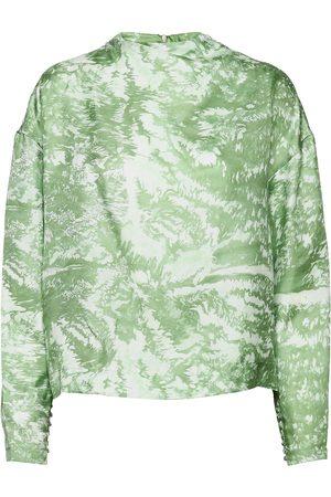 Lovechild Kvinder Bluser - Sami Shirt Bluse Langærmet Grøn
