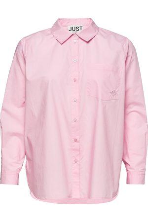 Just Female Dallas Shirt Langærmet Skjorte Lyserød