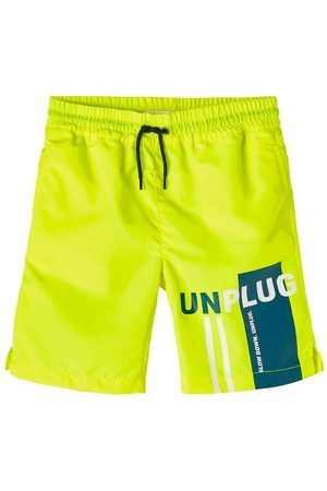Name it Badeshorts- NkmFruddy - Safety Yellow