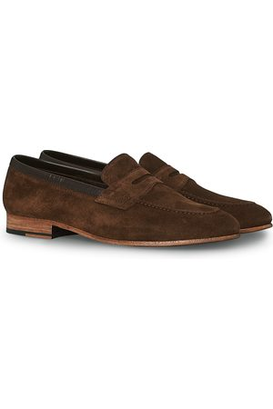 Loake Lifestyle Darwin Loafer Dark Brown Suede