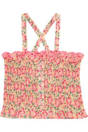 Louise Misha Piger Toppe - Malika floral cotton top