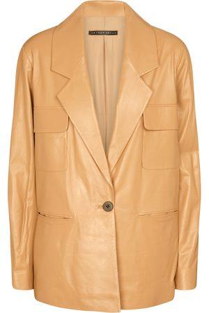 Zeynep Arçay Leather blazer