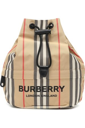 Burberry Kvinder Clutches - Phoebe Check drawstring pouch