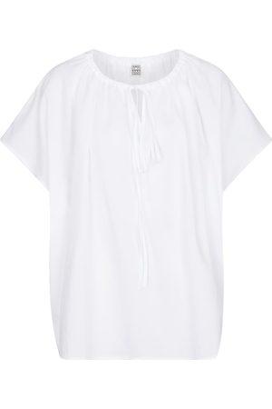 Toteme Gathered blouse