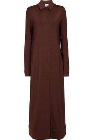 Jil Sander Kvinder Casual kjoler - Stretch-jersey midi dress