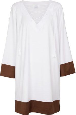 Max Mara Kvinder Kimonos - Adesso cotton-blend kaftan