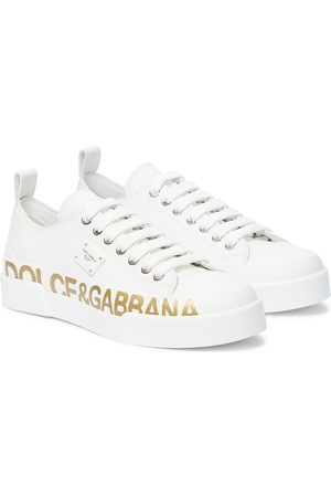 Dolce & Gabbana Custom 2.0 leather sneakers
