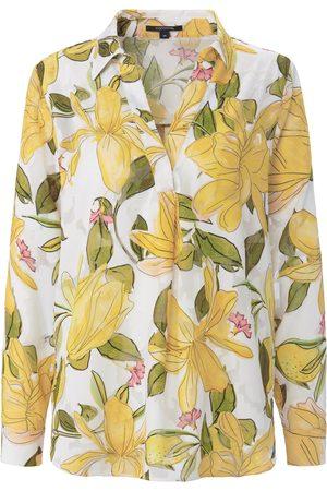 Comma, Kvinder Langærmede skjorter - Skjorte Fra hvid