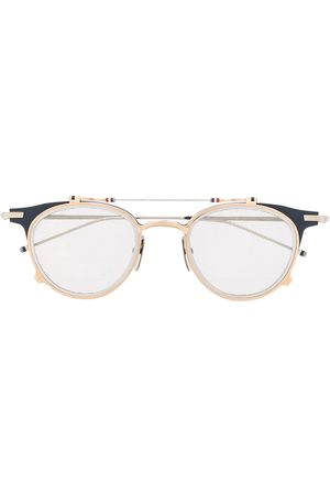 Thom Browne Solbriller - Clubmaster flip up sunglasses