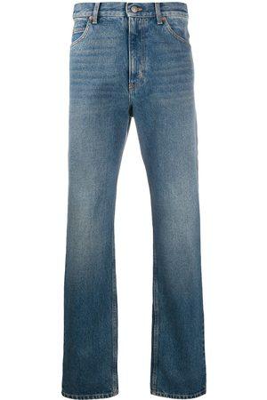 Gucci Mænd Straight - Jeans med lige ben og vasket effekt