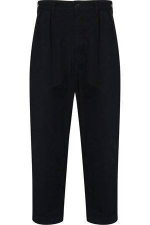 Beams Mænd Bukser - Cropped bukser med indsnit
