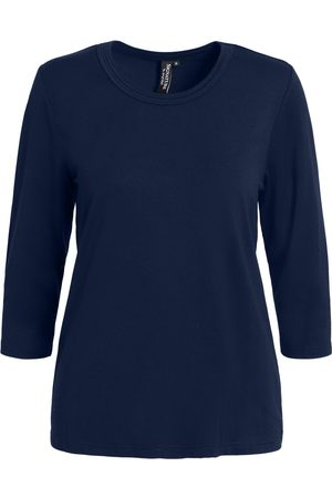 Signature Kvinder Kortærmede - T-shirt 3/4 ærme - Navy - S