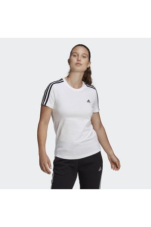 adidas LOUNGEWEAR Essentials Slim 3-Stripes T-shirt