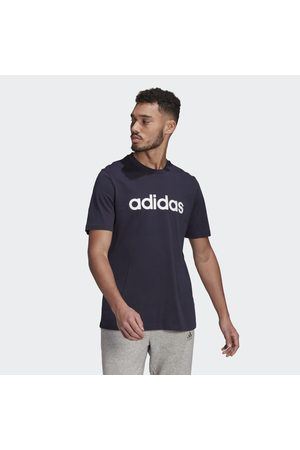adidas Mænd Træning t-shirts - Essentials Embroidered Linear Logo T-shirt