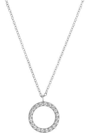 Edblad Glow Necklace Steel Accessories Jewellery Necklaces Dainty Necklaces Sølv