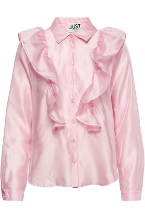Just Female Cholet Shirt Langærmet Skjorte Lyserød