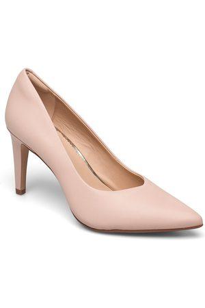 Clarks Kvinder Pumps - Genoa85 Court Shoes Heels Pumps Classic Lyserød