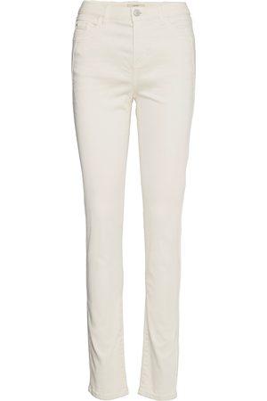 Esprit Pants Woven Slimfit Bukser Hvid