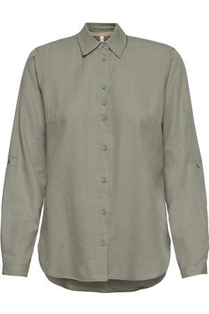Pulz jeans Kvinder Langærmede skjorter - Pzanita Shirt Langærmet Skjorte