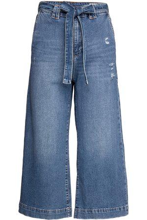 EDC by Esprit Kvinder Kassebukser - Pants Denim Vide Jeans