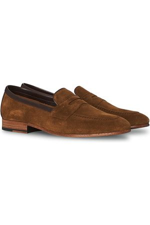 Loake Lifestyle Darwin Loafer Tan Suede
