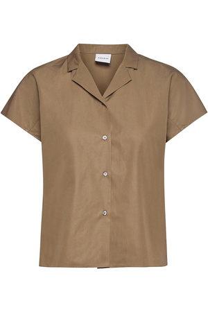 Aspesi Camicia Mod.H718 Bluse Langærmet Beige