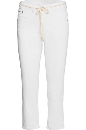 Cream Crvava Pant 3/4 - Coco Fit Lige Jeans