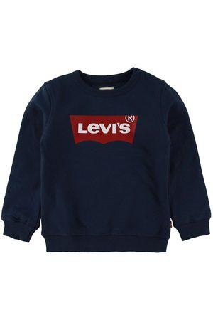 Levis Sweatshirts - Sweatshirt - Batwing Crew Neck - Navy