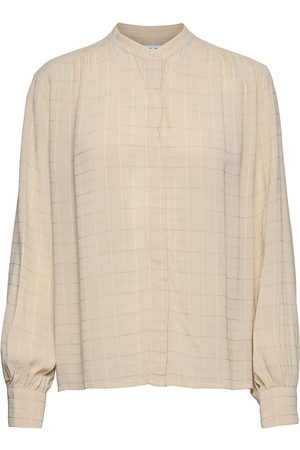Samsøe Samsøe Rochelle Shirt 12957 Langærmet Skjorte Beige