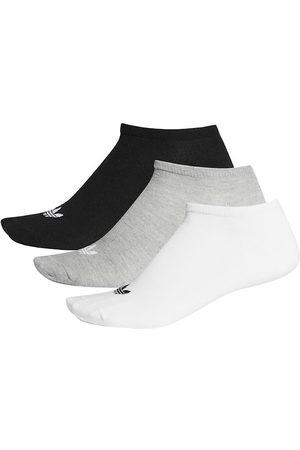 adidas Originals Strømper - Ankelstrømper - Fine Liner - Gråmeleret/ /Hv