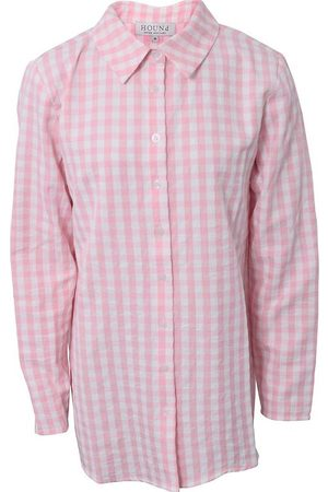 Hound Langærmede skjorter - Skjorte - Lyserød m. Tern