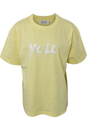 Hound Kortærmede - X Ella Augusta T-shirt - Lemon Yellow
