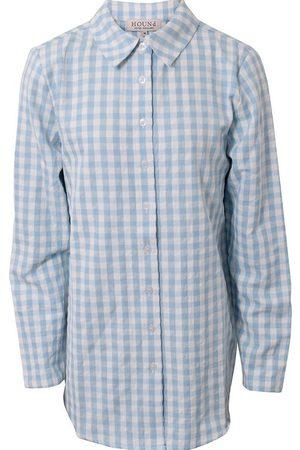 Hound Langærmede skjorter - Skjorte - Lyseblå m. Tern