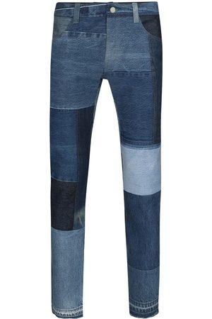 Children Of The Discordance Jeans med lige ben og patchwork