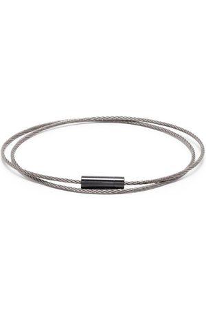 Le Gramme 11g børstet kabel-armbånd