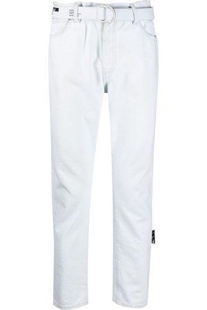 OFF-WHITE Jeans med lige ben og mellemhøj talje