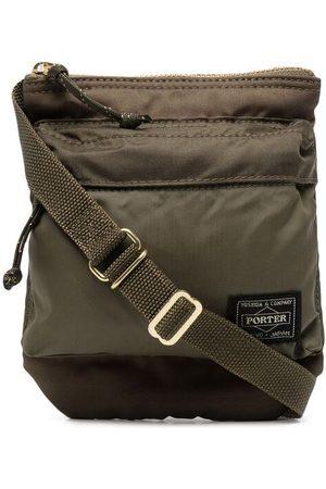 Porter-Yoshida & Co. Crossbody-taske med logomærke