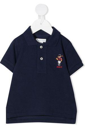 Ralph Lauren Polotrøje med broderet bamse