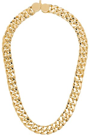 TOM WOOD Guldbelagt halskæde i 9 karat guld med kædelink