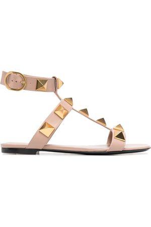 VALENTINO GARAVANI Sandaler med åben tå og nitter