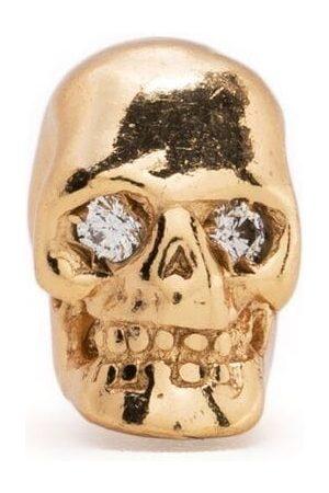 EMANUELE BICOCCHI Diamant-ørestikker med øje og dødningehoved