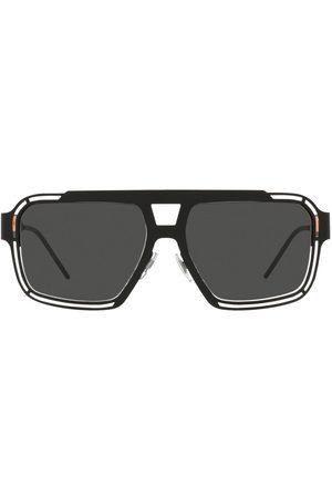 Dolce & Gabbana Firkantede solbriller med logo