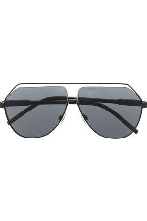 Dolce & Gabbana Aviator-solbriller med udskæring